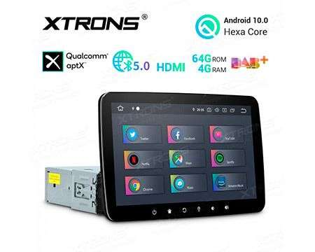 "10.1"" 1DIN ANDROID 10 HEXACORE 4GB+64GB CAR GPS QUALCOMM"