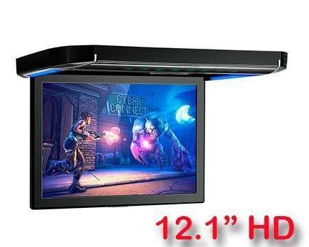 "12.1"" ROOF MONITOR HD HDMI USB SD 120º XTRONS CM121HD"
