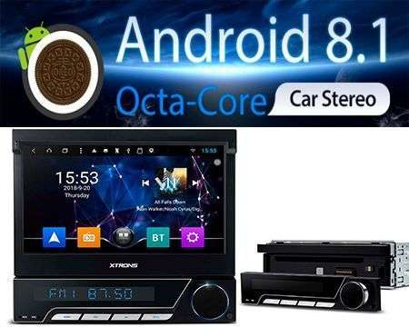 "1 DIN 2GB RAM OCTACORE 7"" RADIO DVD GPS DETACHABLE ANDROID 8.1"