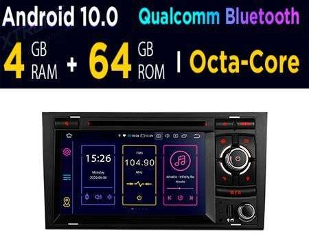 "7"" ANDROID 10 OCTACORE 4+64GB CAR DVD GPS AUDI A4