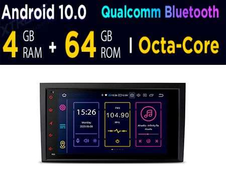 "8"" ANDROID 10 OCTACORE 4+64GB CAR GPS P&P AUDI A4