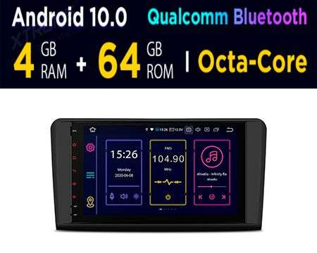 "9"" ANDROID 10 OCTACORE 4GB+64GB CAR GPS QUALCOMM BENZ ML