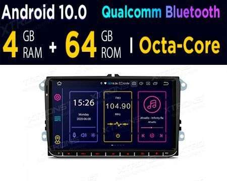 "9"" ANDROID 10 OCTACORE 4GB+64GB CAR GPS P&P VW