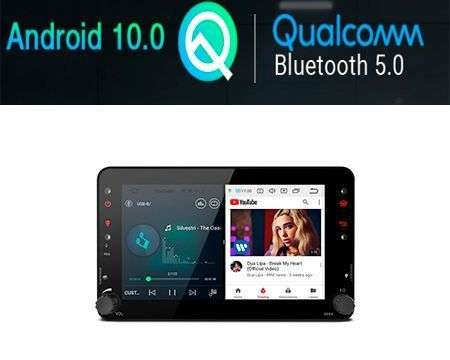 "7"" ANDROID 10 QUALCOMM CAR GPS 4X48W ALFA ROMEO 159