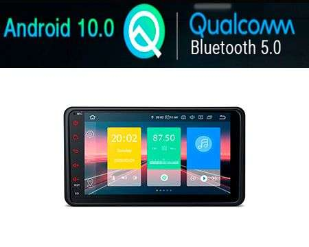 "7"" ANDROID 10 QUALCOMM CAR GPS 4X48W SUZUKY JIMNY"