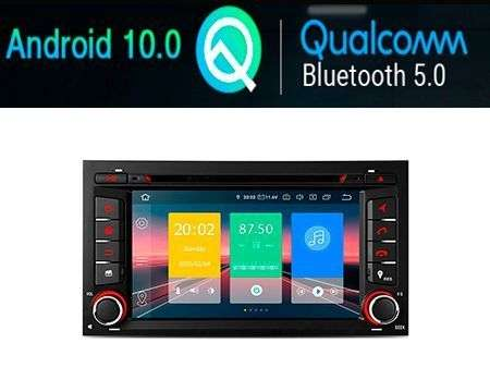 "7"" ANDROID 10 QUALCOMM CAR DVD GPS PLUG&PLAY SEAT LEON 3"