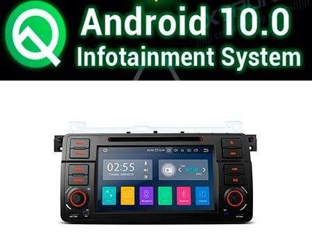 "7"" ANDROID 10 QUADCORE PX30 CAR DVD GPS BMW 3 E46 ROVER 75"