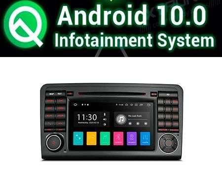 "7"" ANDROID 10 PX30 CAR DVD GPS WIFI 4X48W BENZ GL