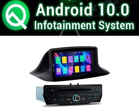 "7"" ANDROID 10 PX30 CAR DVD GPS WIFI 4X48W MEGANE 3/FLUENCE"