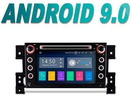 "7"" ANDROID 9.0 PX30 CAR DVD GPS WIFI 4X48W GRAND VITARA 05-13"