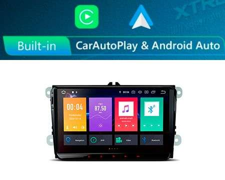 "9"" ANDROID 10 8CORE 2+32GB CAR GPS CARPLAY/A.AUTO VW