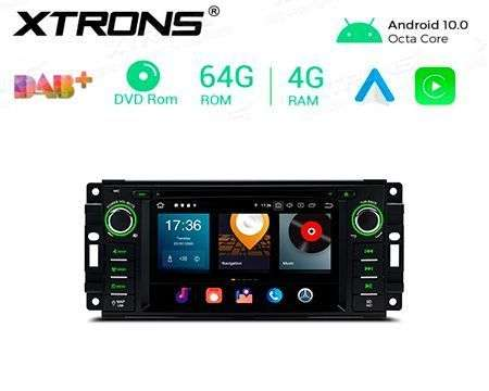 "6.2"" ANDROID 10 8CORE 4GB+64GB CAR DVD GPS JEEP/DODGE/CHRYSLER"