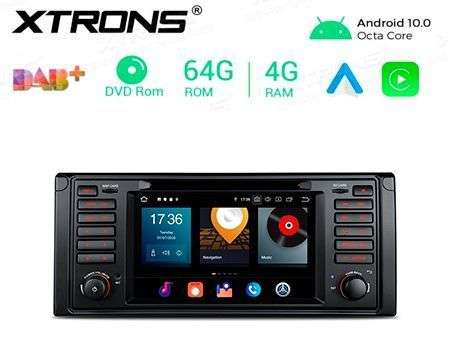"7"" ANDROID 10 OCTACORE 4+64GB CAR DVD GPS BMW 5 E39"