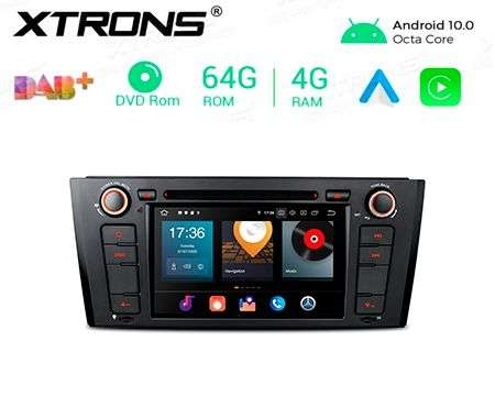 "7"" ANDROID 10 OCTACORE 4+64GB CAR DVD GPS BMW 1 E81/E82/E88"