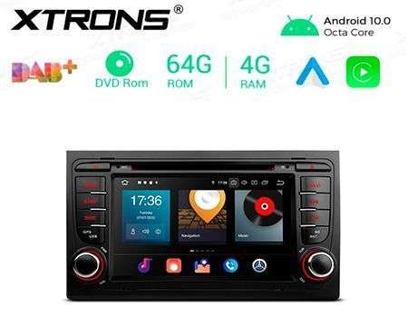 "7"" ANDROID 10 OCTACORE 4GB RAM+64GB CAR DVD GPS AUDI A4/RS4"