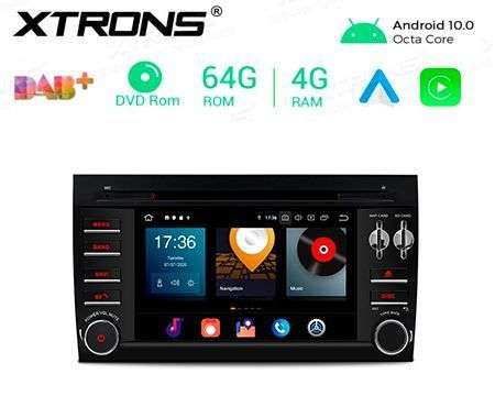 "7"" ANDROID 10 OCTACORE 4GB RAM+64GB CAR DVD GPS PORSCHE CAYENNE"
