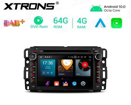 "7"" ANDROID 10 8CORE 4+64GB CAR DVD GPS CHEVROLET