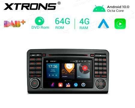 "7"" ANDROID 10 OCTACORE 4GB+64G CAR DVD GPS MERCEDES BENZ GL