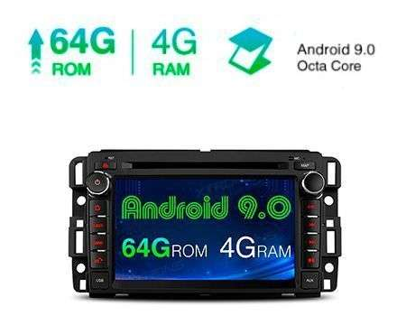 "7"" ANDROID 9.0 OCTACORE 4GB+64GB CAR DVD GPS CHEVROLET/GMC/HUMME"