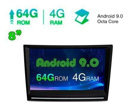"8"" ANDROID 9.0 OCTACORE 4GB+64GB CAR GPS 911, BOXSTER, CAYMAN"