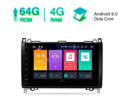 "9"" ANDROID 9.0 OCTACORE 4+64GB CAR GPS A/B/VITO/VIANO/SPRINTER"