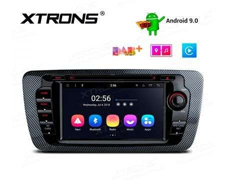 "7"" ANDROID 9.0 OCTACORE CAR DVD GPS WIFI 4X45W SEAT IBIZA"