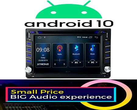 "6.2"" ANDROID 10 DSP QUADCORE CAR DVD GPS 3 ZONE NISSAN"