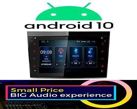 "7"" ANDROID 10 DSP QUADCORE CAR GPS 3 ZONE ASTRA