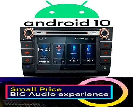 "8"" ANDROID 10 DSP QUADCORE CAR DVD GPS 3ZONE SWIFT 04-10