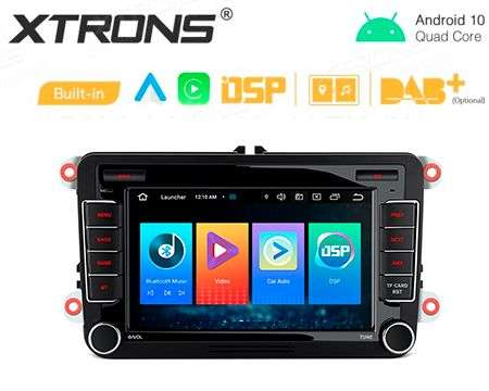 "7"" ANDROID 10 CARPLAY