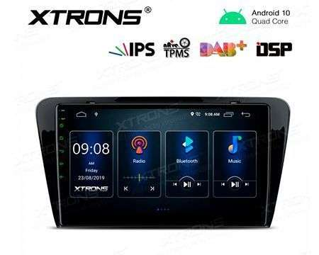"10.1"" IPS ANDROID 10 DSP QUADCORE CAR GPS WIFI SKODA OCTAVIA 3"