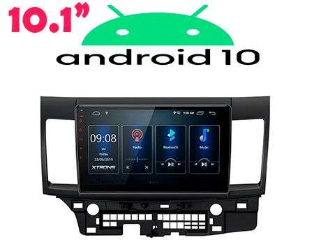 "10.1"" ANDROID 10 DSP QUADCORE CAR GPS WIFI LANCER 07-17"