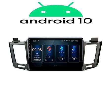 "10.1"" IPS ANDROID 10 DSP 4CORE CAR GPS WIFI TOYOTA RAV4 13-17"