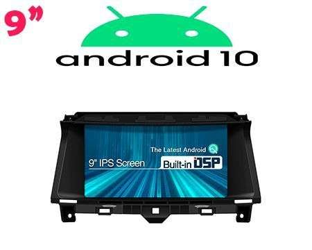 "9"" IPS ANDROID 10 DSP QUADCORE CAR GPS WIFI HONDA ACCORD 08-12"