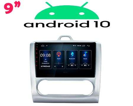 "9"" IPS ANDROID 10 DSP QUADCORE CAR GPS WIFI FORD FOCUS 2"