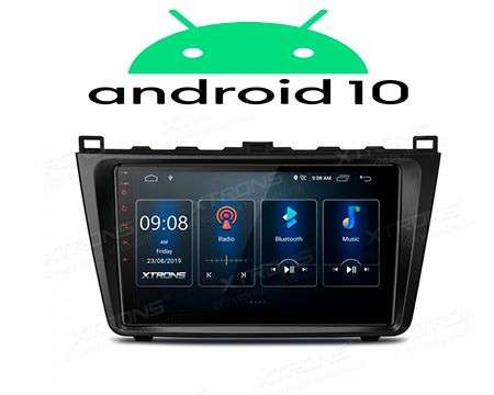 "9"" IPS ANDROID 10 DSP QUADCORE CAR GPS WIFI MAZDA 6"