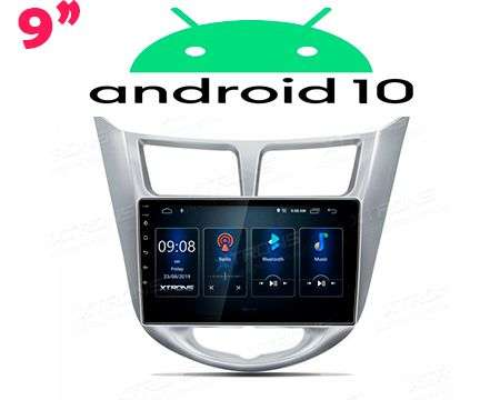 "9"" IPS ANDROID 10 DSP QUADCORE CAR GPS HYUNDAI i25/ACCENT/SOLARI"