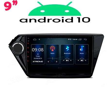 "9"" IPS ANDROID 10 DSP QUADCORE CAR GPS WIFI KIA RIO 3 12-17"