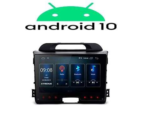 "9"" IPS ANDROID 10 DSP QUADCORE CAR GPS WIFI KIA SPORTAGE 3"