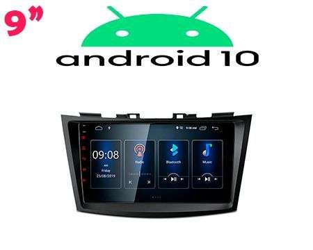 "9"" IPS ANDROID 10 DSP QUADCORE CAR GPS WIFI SUZUKI SWIFT"