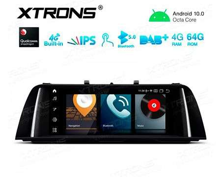 "10.25"" 4G QUALCOMM 8CORE 4+64GB GPS WIFI ANDROID 10 BMW 5 F10