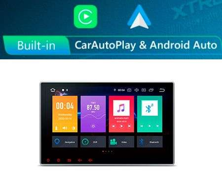 "10.1"" 2 DIN ANDROID 10 8CORE 2+32GB CAR DVD GPS CARPLAY/ANDROID"