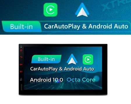 "2 DIN 7"" ANDROID 10 8CORE 2+32GB CAR GPS CARPLAY/ANDROID AUTO"